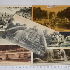Postales: LOTE 7 POSTALES ANTIGUAS / LA GRANJA - SEGOVIA - 6 DE AÑOS 40/50 Y 1 AÑOS 20 ¡MIRA FOTOS/DETALLES!. Lote 277016938
