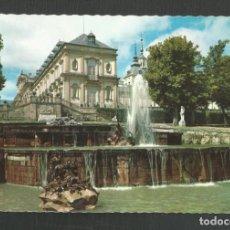 Postales: POSTAL CIRCULADA LA GRANJA DE SAN ILDELFONSO 116 SEGOVIA EDITA PATRIMONIO. Lote 277533233