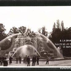 Postales: 9. LA GRANJA (SEGOVIA) FUENTE DE LOS BAÑOS DE DIANA. Lote 277577238