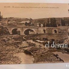 Postales: BEJAR. EL PUENTE NUEVO, MUY INTERESANTE POR SU NOTABLE CONSTRUCCIÓN.. Lote 277614978