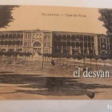 Postales: SALAMANCA. PLAZA DE TOROS. Lote 277615658