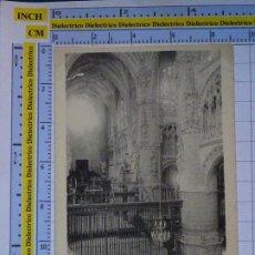 Postales: POSTAL DE BURGOS. SIGLO XIX - 1905. CATEDRAL NAVE DE LA CORONERÍA. D'ASLOC. 928. Lote 277849993