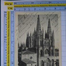 Postales: POSTAL DE BURGOS. SIGLO XIX - 1905. CATEDRAL. D'ASLOC. 929. Lote 277850028