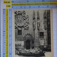 Postales: POSTAL DE BURGOS. SIGLO XIX - 1905. CATEDRAL DETALLE DEL CONDESTABLE. D'ASLOC. 932. Lote 277850338