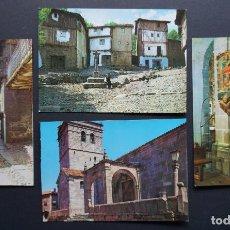 Postales: LA ALBERCA (SALAMANCA-CIUDAD RODRIGO), 4 ANTIGUAS POSTALES SIN CIRCULAR. Lote 278459668