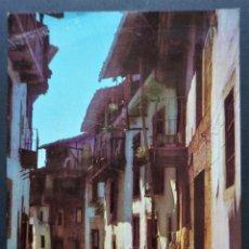 Postales: CANDELARIO (SALAMANCA), CALLE TÍPICA, ANTIGUA POSTAL SIN CIRCULAR, VER FOTOS Y COMENTARIOS. Lote 278460048