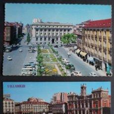 Postales: VALLADOLID, 2 ANTIGUAS POSTALES SIN CIRCULAR , VER FOTO REVERSO. Lote 278463308