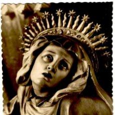 Postales: VALLADOLID - IGLESIA DE SAN MIGUEL - DOLOROSA (JUAN DE JUNÍ) - ED. G. GARRABELLA Nº 212 - 140X88MM.. Lote 278477908