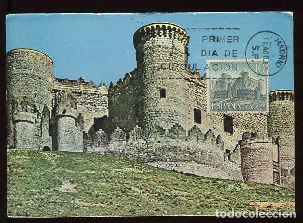 EM1548 CASTILLO DE BELMONTE 1967 - SELLO CONMEMORATIVO (Postales - España - Castilla y León Moderna (desde 1940))