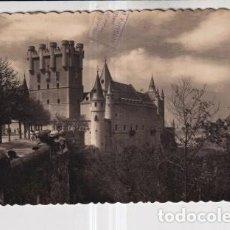 Postales: POSTAL DE SEGOVIA FACHADA PRINCIPAL DEL ALCÁZAR Nº 28 EDITOR GARCIA GARRABELLA SIN CIRCULAR. Lote 278764283