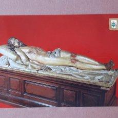 Cartoline: POSTAL 139 SUBIRATS CASANOVAS. CRISTO YACENTE. MUSEO ESCULTURA. VALLADOLID. 1974. SIN CIRCULAR.. Lote 278956123