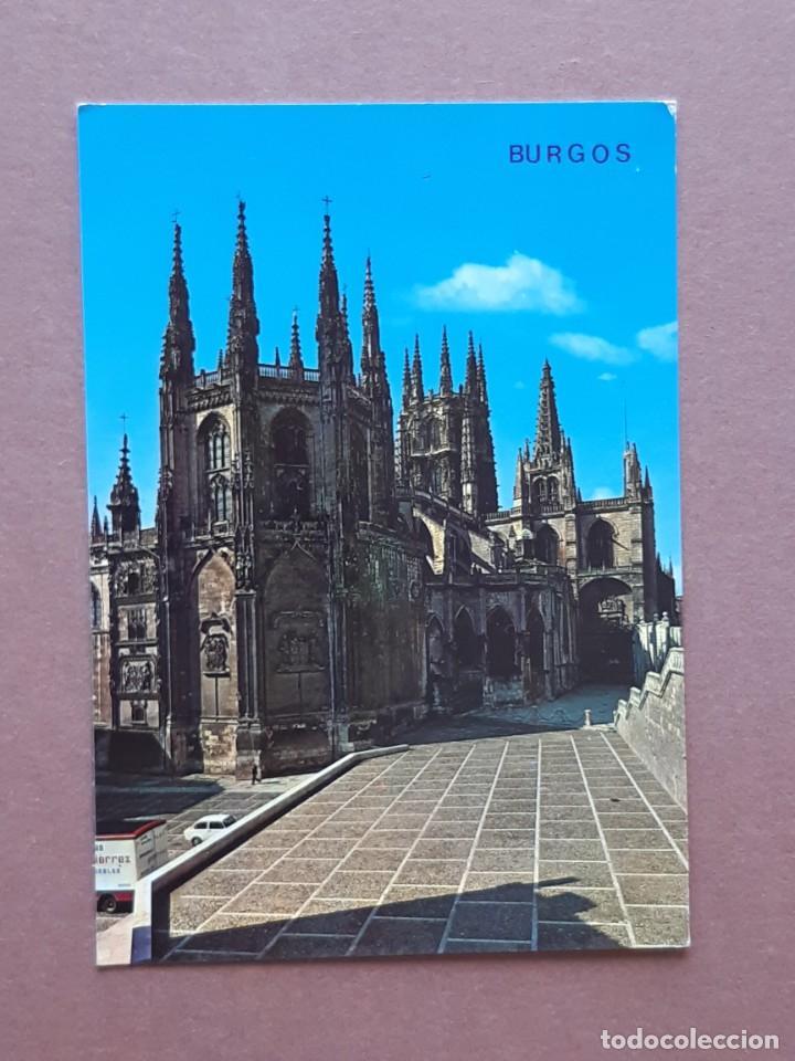POSTAL 79 ARRIBAS. ABSIDE. CATEDRAL. BURGOS. 1971. SIN CIRCULAR. (Postales - España - Castilla y León Moderna (desde 1940))