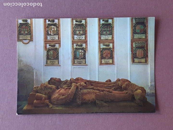 POSTAL 2032 ARRIBAS. SEPULCRO DE EL CID. BURGOS. 1964. SIN CIRCULAR. (Postales - España - Castilla y León Moderna (desde 1940))