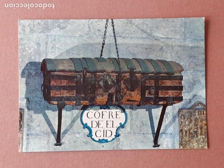 POSTAL 47 BEASCOA. COFRE DE EL CID. CATEDRAL. BURGOS. 1968. SIN CIRCULAR. (Postales - España - Castilla y León Moderna (desde 1940))