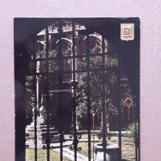 Postales: POSTAL 154 SUBIRATS CASANOVAS. JARDÍN DEL CLAUSTRO. CATEDRAL. BURGOS. 1970. SIN CIRCULAR.. Lote 278970823