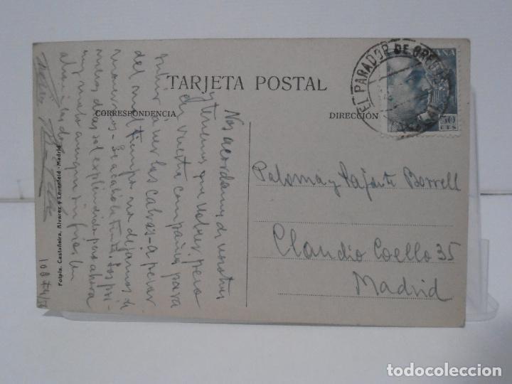 Postales: ANTIGUA POSTAL, ALMIAR DE PABLO Y SAGRARIO, FOTPIA CASTAÑEIDA ALVAREZ - Foto 2 - 282175893