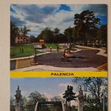 Cartoline: PALENCIA - PARQUE INFANTIL - PUENTE DE HIERRO - LAXC - P59990. Lote 282978113
