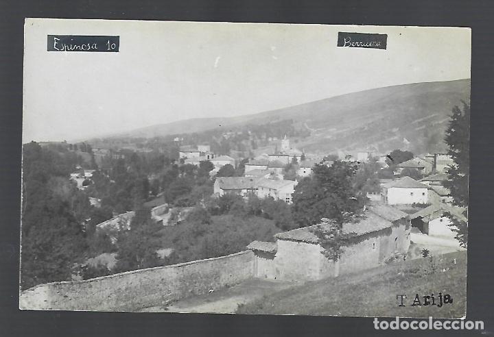 TARJETA POSTAL FOTOGRÁFICA. BERRUEZA, BURGOS. T.ARIJA. VISTA PARCIAL. (Postales - España - Castilla y León Antigua (hasta 1939))