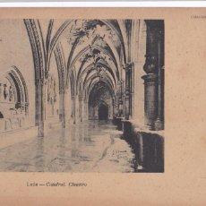 Postales: LEON, CATEDRAL CLAUSTRO. ED. THOMAS, COLECCION GRACIA SERIE 1º Nº 9. VER REVERSO SIN DIVIDIR. Lote 286168383