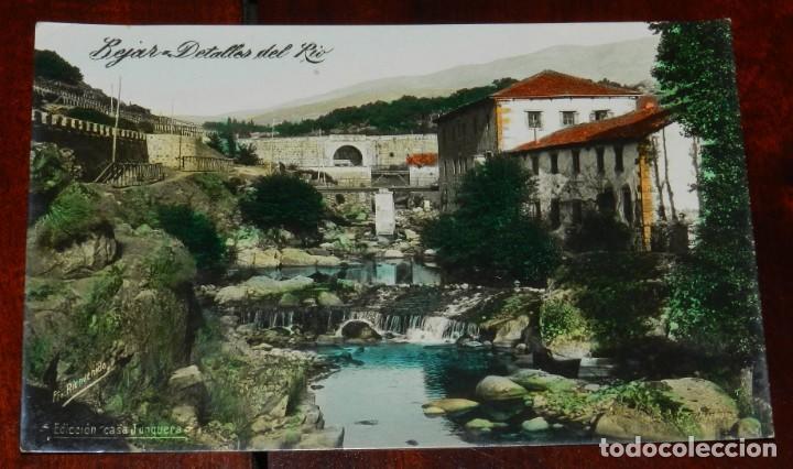 BEJAR (SALAMANCA), DETALLES DEL RIO, EDICION CASA JUNQUERA, SIN CIRCULAR * (Postales - España - Castilla y León Antigua (hasta 1939))