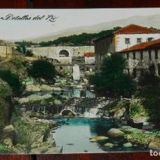 Postales: BEJAR (SALAMANCA), DETALLES DEL RIO, EDICION CASA JUNQUERA, SIN CIRCULAR *. Lote 286311813