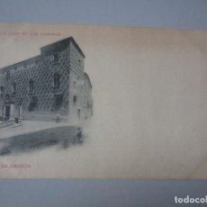 Postales: POSTAL SALAMANCA REVERSO SIN DIVIDIR ROMO Y FUSSEL. Lote 287547793
