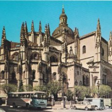 Postales: SEGOVIA, LA CATEDRAL – EDICIONES VISTABELLA Nº17 – EDITADA EN 1969 – S/C. Lote 287890328
