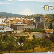 Postales: POSTAL ARENAS DE S.PEDRO CASTILLO DE D.ALVARO DE LUNA. Lote 287913278