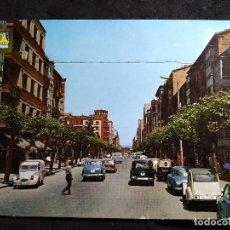 Cartoline: POSTAL * MIRANDA DE EBRO (BURGOS),AVDA. GENERAL FRANCO * 1968. Lote 288433323
