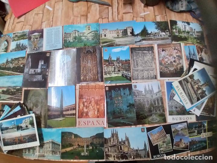 90 POSTALES * BURGOS Y PROVINCIA * ( LOTE 2) (Postales - España - Castilla y León Moderna (desde 1940))