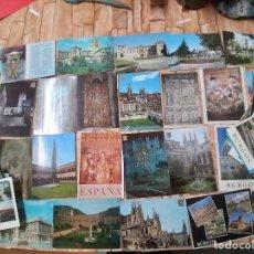 Postales: 90 POSTALES * BURGOS Y PROVINCIA * ( LOTE 2). Lote 288435808