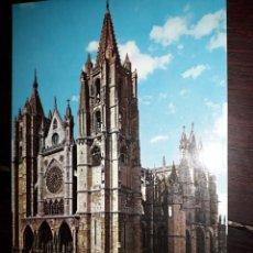 Postales: Nº 5790 POSTAL LEON CATEDRAL FACHADA PRINCIPAL. Lote 288694993