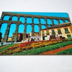 Postales: POSTAL SEGOVIA ACUEDUCTO ROMANO. Lote 288953918