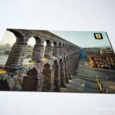 Postales: POSTAL SEGOVIA ACUEDUCTO ROMANO. Lote 288954228