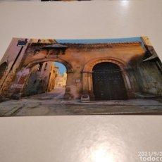 Postales: POSTAL SEGOVIA PUERTA DE LA CLAUSTRA. Lote 288999528
