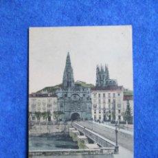 Postales: BURGOS. - ARCO Y PUENTE DE STA. MARIA, 1904. Lote 289256433