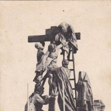 Postales: ZAMORA, SEMANA SANTA, EL DESCENDIMIENTO. ED. MATEU MADRID, LIBRERIA RELIGIOSA JACINTO GONZALEZ Nº 18. Lote 289342758