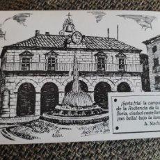 Postales: MACHADO SORIA ILUSRACION ANGEL IGLESIA POSTAL ED LIBRERIA JODRA Nº 5 PALACIO AUDIENCIA. Lote 289662528
