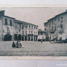 Postales: POSTAL 1ª COLECCION, PONFERRADA, PLAZA DE LA ENCINA, CIRCULADA, AÑO 15-8-1904. Lote 289668083