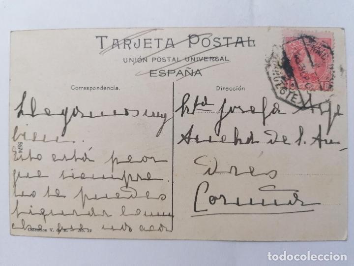 Postales: POSTAL PONFERRADA, VISTA GENERAL, CIRCULADA, AÑO 1908 - Foto 2 - 289669053