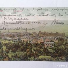Postales: POSTAL PONFERRADA, VISTA GENERAL, CIRCULADA, AÑO 1908. Lote 289669053