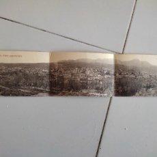 Postales: BEJAR VISTA PANORAMICA DESPLEGABLE POSTAL TRIPLE FOTO BIENVENIDO SC CASTILLA LEON SALAMANCA. Lote 289697353