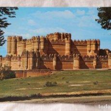 Postales: 4 CASTILLO DE COCA SEGOVIA MUDEJAR COLECCION CASTILLOS DE ESPAÑA EXCLUSIVA F. ANAYA. Lote 289841648