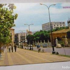 Postales: POSTAL SORIA -AV VALLADOLID. Lote 289872193