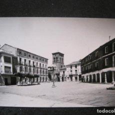Postales: CARRION DE LOS CONDES-PLAZA MAYOR-EDICIONES SICILIA-1-POSTAL ANTIGUA-(84.810). Lote 292959008