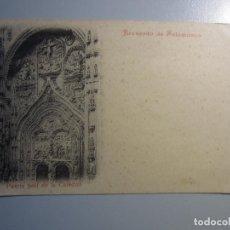Postales: POSTAL SALAMANCA REVERSO SIN DIVIDIR. Lote 295332838