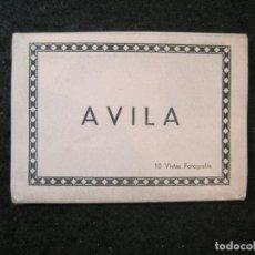 Postales: AVILA-MINI BLOC CON 10 FOTOGRAFIAS ANTIGUAS-M.ARRIBAS-VER FOTOS-(85.145). Lote 295357803