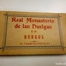 Postales: POSTAL. 30 TARJETAS POSTALES. REAL MONASTERIO DE LAS HUELGAS. BURGOS. FOTOTIPIA DE HAUSER Y MENET.. Lote 295444173
