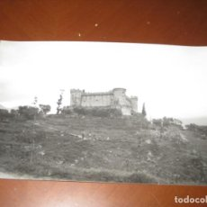 Postales: FOTOGRAFIA DEL CASTILLO DE SANTA CRUZ DEL VALLE. Lote 295463293