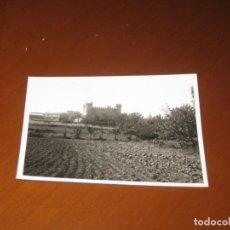 Postales: FOTOGRAFIA DEL CASTILLO DE OLMILLOS DE SASAMON. Lote 295469423